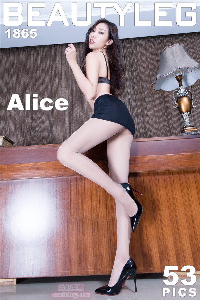 [Beautyleg]美腿寫真 2020.01.08 No.1865 Alice[53P/399M]